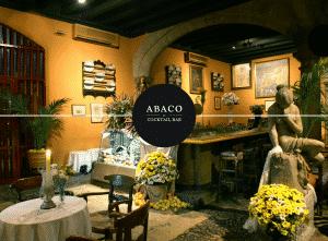 Diseño web en Mallorca - Bar Ábaco Palma