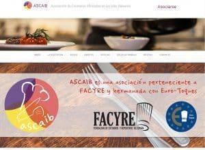 Diseño web Mallorca - Asociación de cocineros afincados en las Islas Baleares