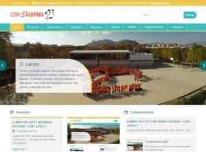 Diseño web CEIP S'Albufera - Diseño web para colegios