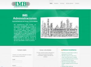 Diseño web en Mallorca - IMB Administraciones