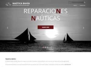 Diseño web Náutica Bahía - Desarrollo web para empresas náuticas y de barcos