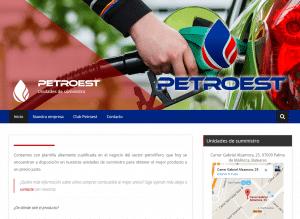 Diseño web Mallorca - Petroest