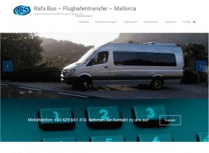 Diseño web Mallorca - Rafa Bus - Transports Rafael Servera