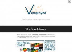 Vemployed - Diseño Web Base 2