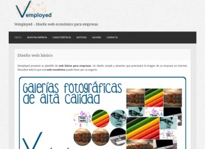Vemployed - Diseño Web Base 4